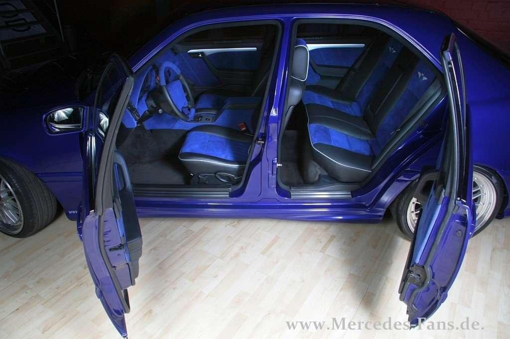Power Cars Mercedes Benz W202 Suicide Doors